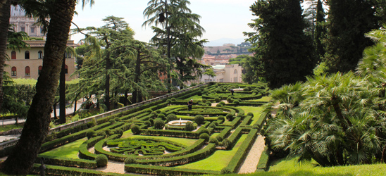 Tickets for the Vatican Gardens
